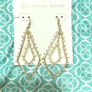 Kendra Scott Alice drop earrings nwot